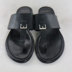 Like New COLE HAAN Linden Black Leather Sandals
